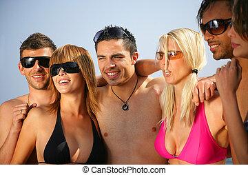 gioventù, spiaggia