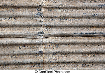 Rusty Corrugated Iron - Rusty corrugated iron Great textures...