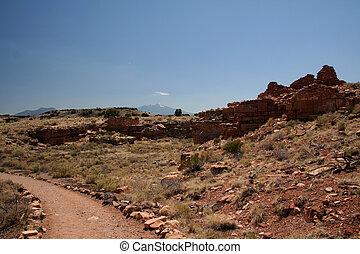 Native American Ruins Pueblo