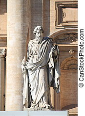 Statue of Saint Paul the Apostle in Vatican City, Rome