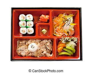 japonés, Bento, almuerzo
