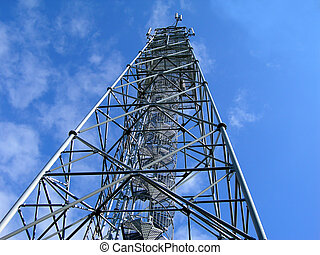new broadcast tower - broadcast tower