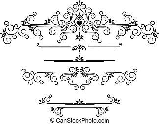 Decorative ornament border.Graphic