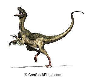 Ornitholestes Dinosaur - The ornitholestes dinosaur lived in...