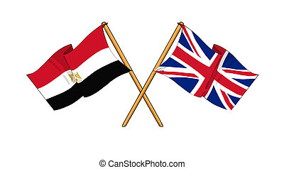 United Kingdom and Egypt alliance and friendship -...
