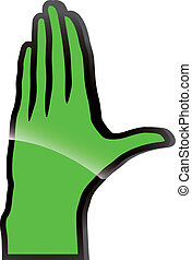 Gesture, stop - Hand
