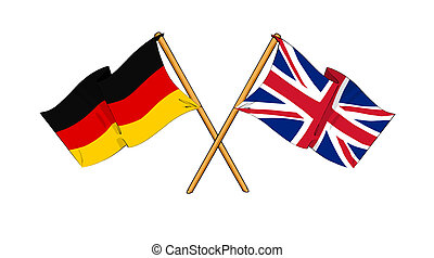 United Kingdom and Germany alliance and friendship -...