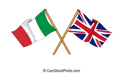 United Kingdom and Italy alliance and friendship -...