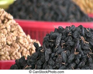Dried fruit for sale in Samarkand - Dried fruit for sale in...