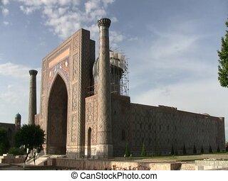 The Registan in Samarkand, Uzbekistan