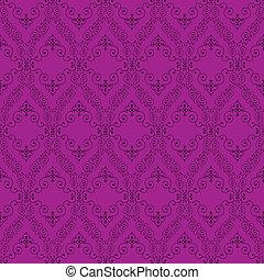 seamless abstract purple orient pattern