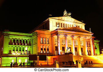 The Concert hall in Berlin - The Konzerthaus (Concert hall)...