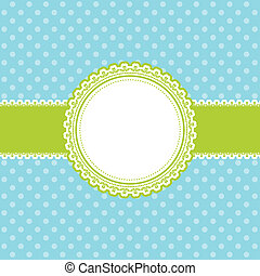 Cute Easter background - Cute retro styled Easter themed...