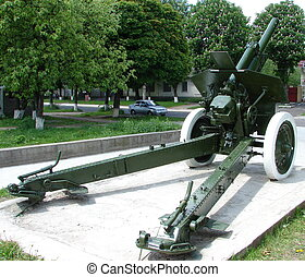 Real Soviet WW2 Mortar M-30 01