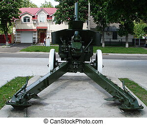 Real Soviet WW2 Mortar M-30 02