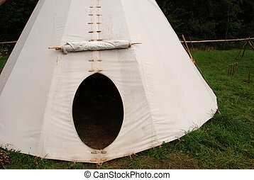 Indian teepee - Native American sheleter - teepee