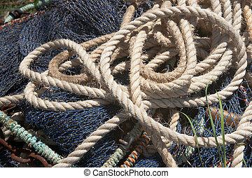 Extracto, Patrones, pesca, redes