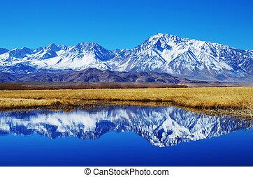 montanha, Reflexão
