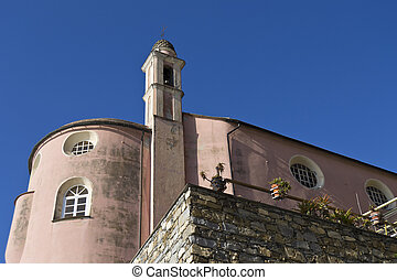 church on the sea - The church of s Erasmus in Sori