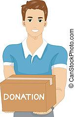 Donation Man