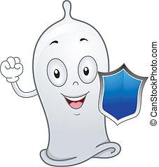 コンドーム, 保有物, 保護