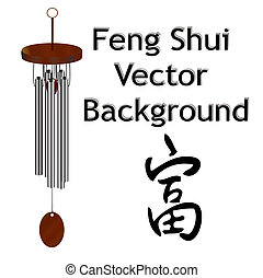 Feng Shui Vector background