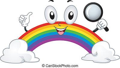 Rainbow Mascot