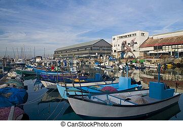 Jaffa port - The historic port of Jaffa in Israel