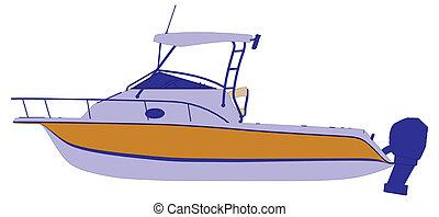 yacht boat ship vector
