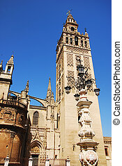 The Giralda tower of Cathedral