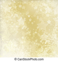 Light golden watercolor brush strokes for grunge background