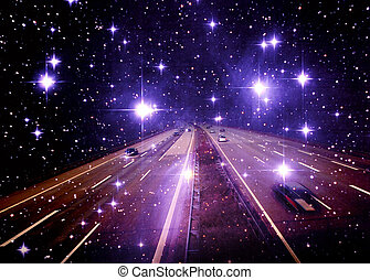 stars - Stars with a freeway