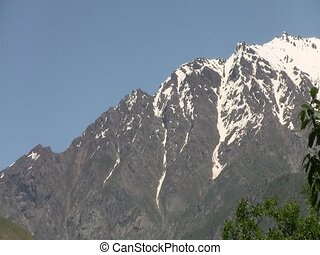 Fan Mountains in Iskanderkul - Fan Mountains surrounding...