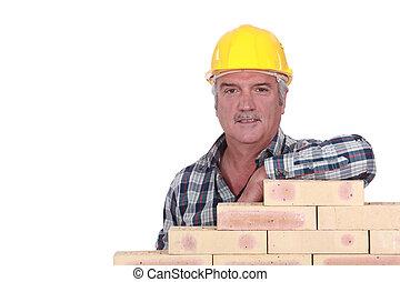 Ladrillos, Pila, artesano, propensión