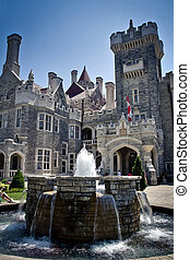 Casa Loma Castle is one of tourist attraction in Toronto,...