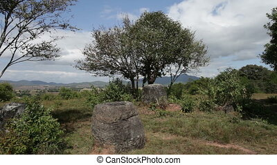 The Plain of Jars, Laos - The Plain of Jars is an...