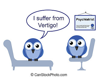 vertigo phobia - On the Psychiatric couch and vertigo phobia