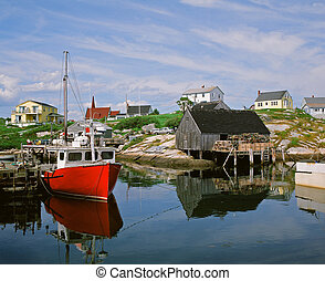 Peggy's, Cove, Nova, Scotia, Canada