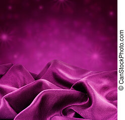 purple silk border design