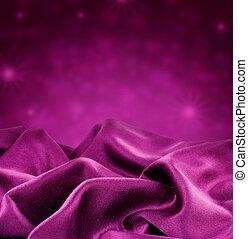 紫色, 絲綢, 邊框, 設計