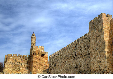 Tower of David Minaret - Dating from 2nd Century BCE, the...