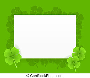 St Patrick Greeting Card - Saint Patrick Greeting Card...