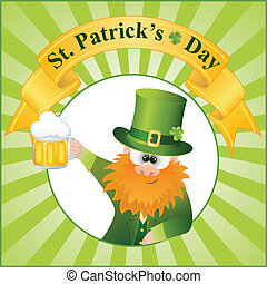 St. Patrick's Day Cartoon Vector