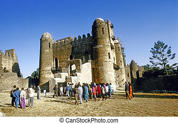 people love to marry in Gondar - GONDAR, ETHIOPIA - MAY 07:...