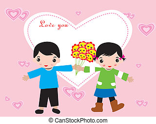 marriage or Valentine Day frame