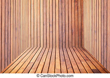 wooden room - wood room for background