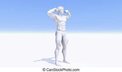 human body  - image of bodybuilder