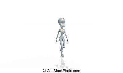 robot - walking robot