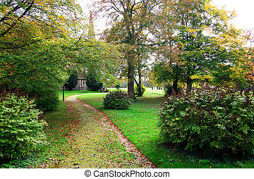 English church garden