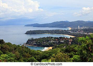 Kata Noi, Kata Beach and Karon Beach, Phuket, Thailand